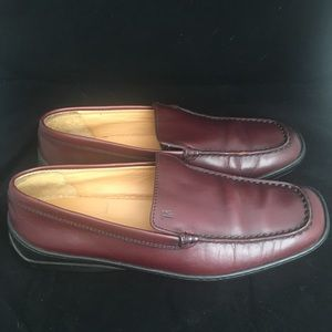 Tod's Chestnut Brown Pallame Driving Loafers 6.5